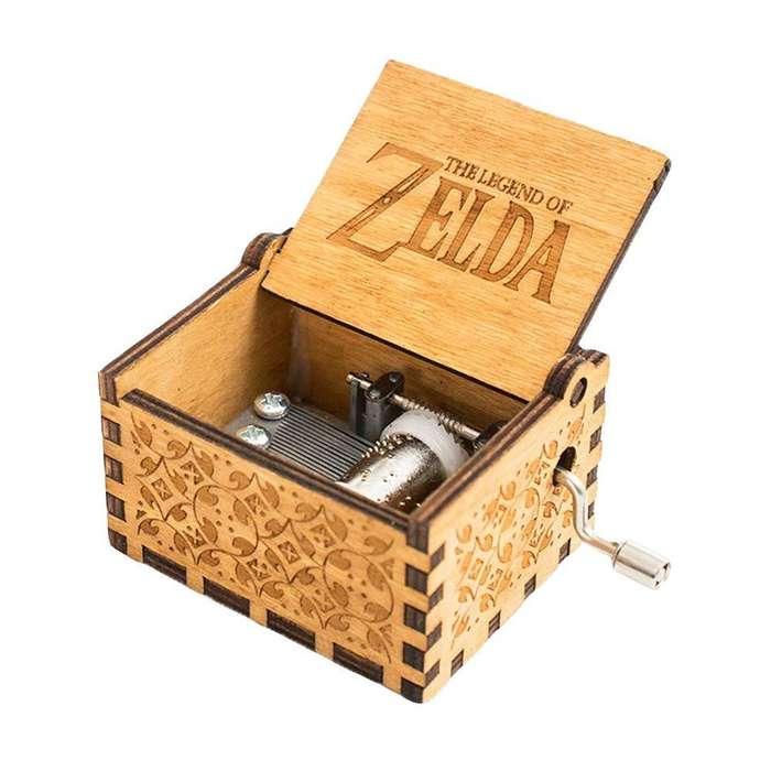 Caja Musical The Legend Of Zelda Madera Link