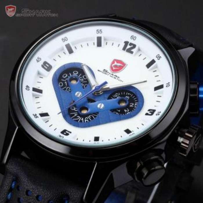 Reloj Shark Megalodon - Color Azul