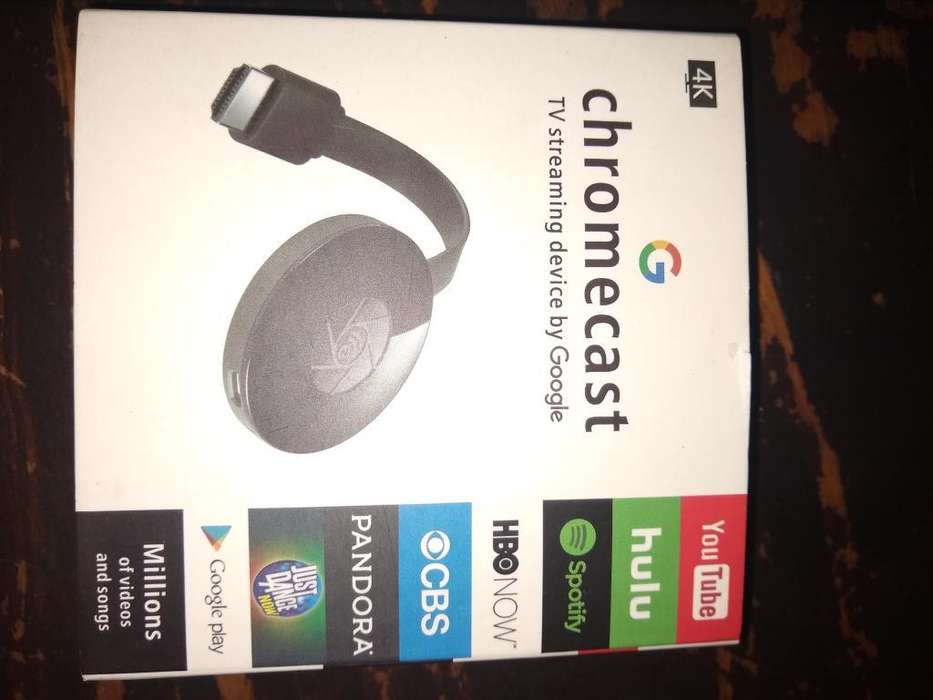 Chromecast sin Uso