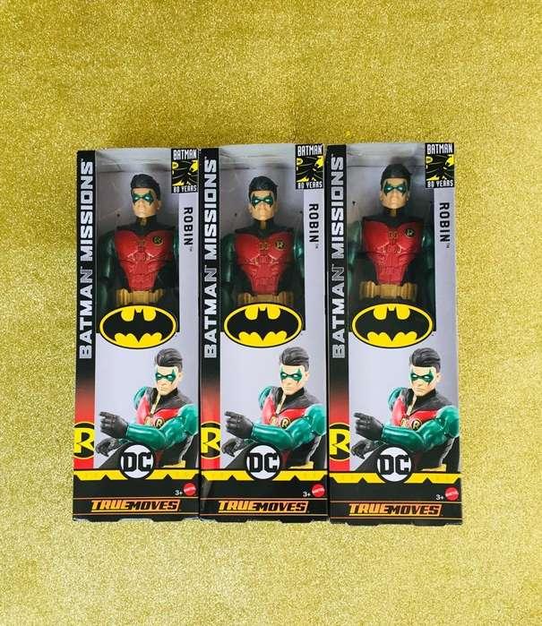 Dc Batman Missions Robin True moves dc comics mattel
