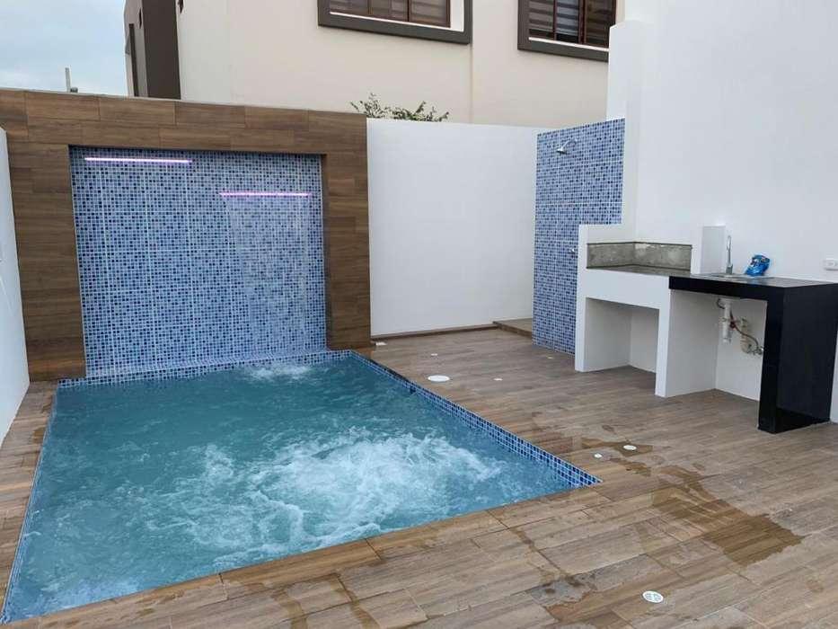 Casa Altos Manta Beach Moderna Acabados Lujo Piscina