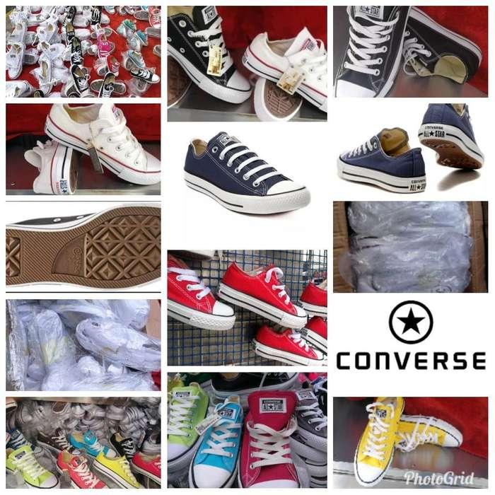 Zapatos Converse All Star Talla Américan