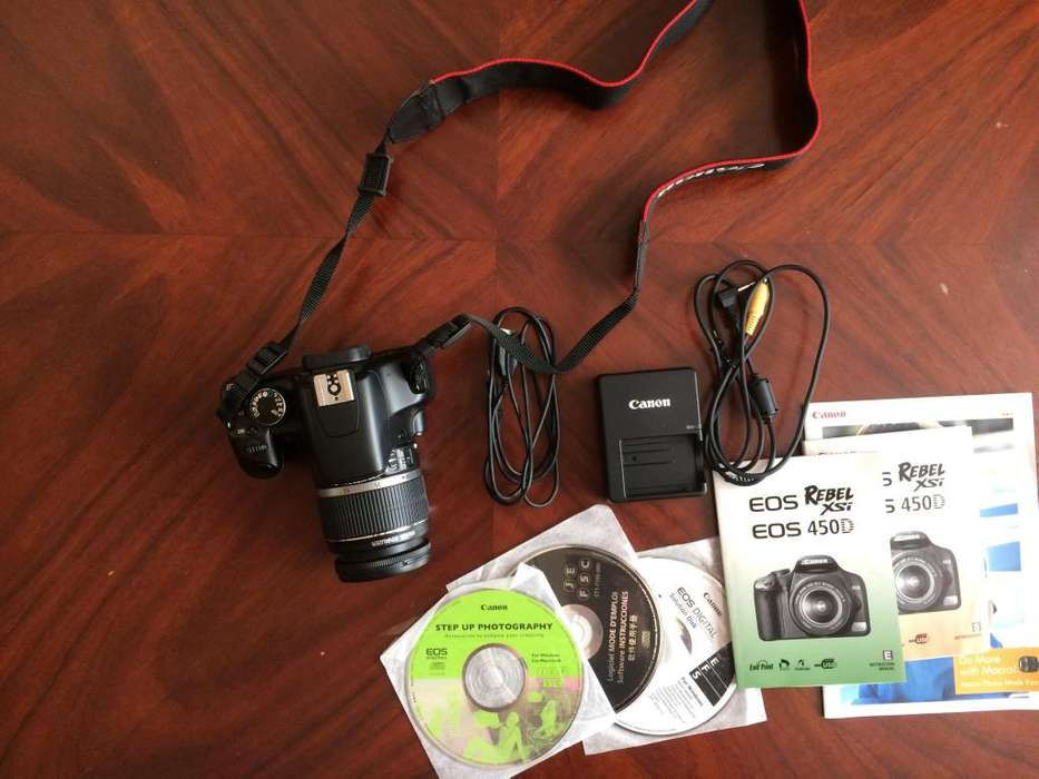 Cámara Réflex Canon EOS Rebel XSi