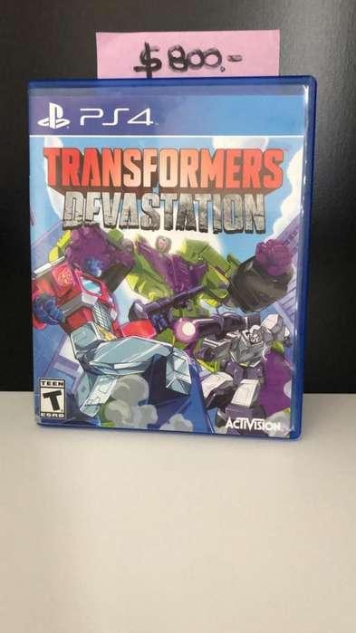 Juego Transformers Devastation