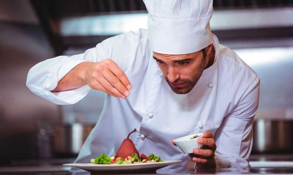 Chef para Elaborar Menu Y Entrenar