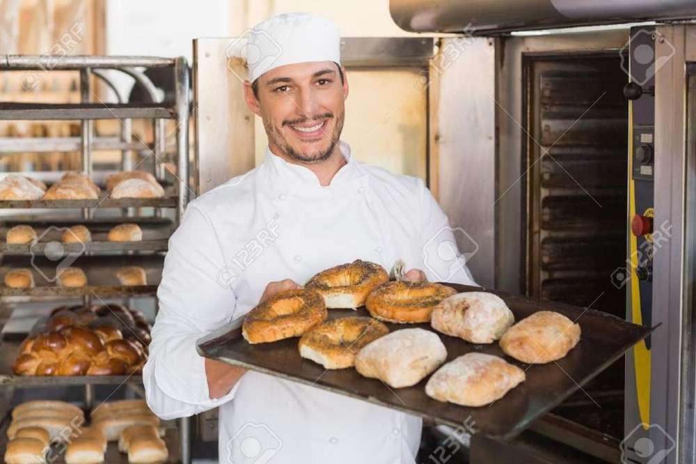Necesito Ayudante de Panaderia para Homb