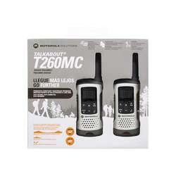Radios de comunicación WALKIE TALKIE MOTOROLA T260MC. ORIGINALES NUEVOS!