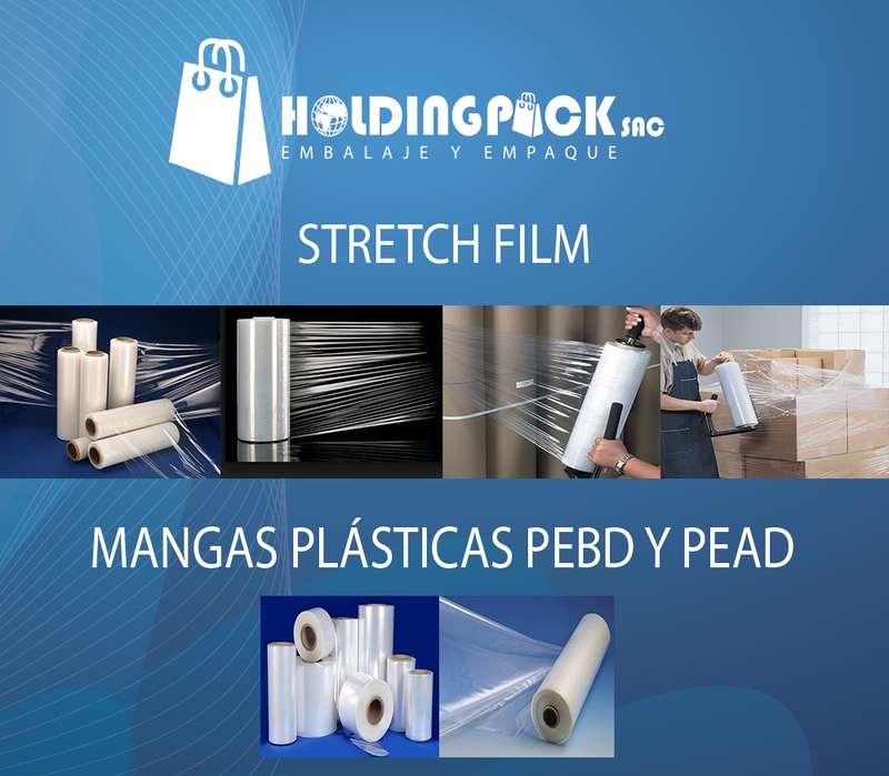 STRETCH FILM - MANGAS PLASTICAS PEBD Y PEAD - PLASTICOS EN GENERAL