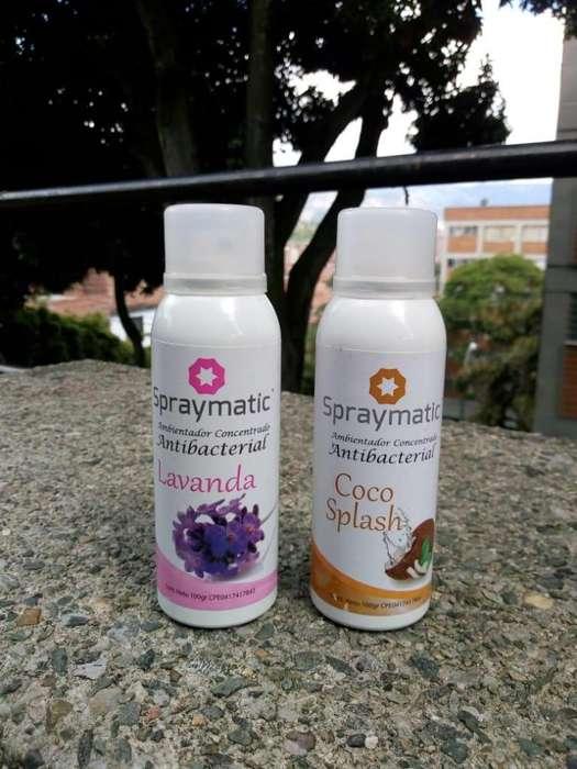 Antibacterial En Aerosol Spraymatic 100gr