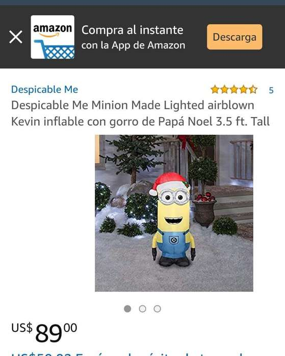 Inflable Minion