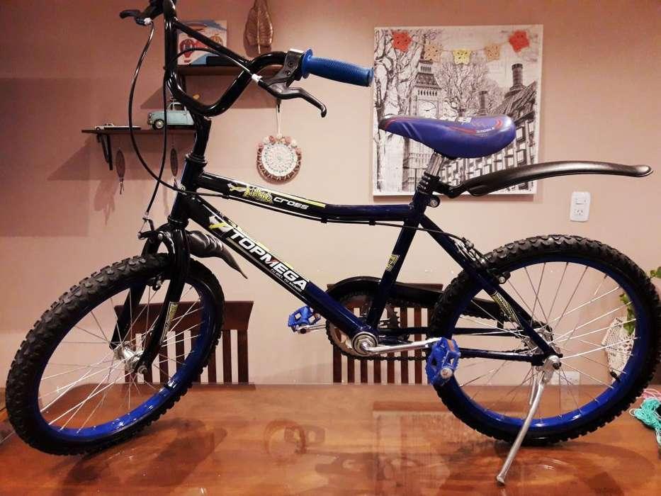 Bicicleta Bmx Rodado 20 Marca Topmega..
