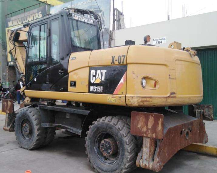 EXCAVADORA CON LLANTAS CAT M315D DEL 2009 IMPORTADO DE EEUU