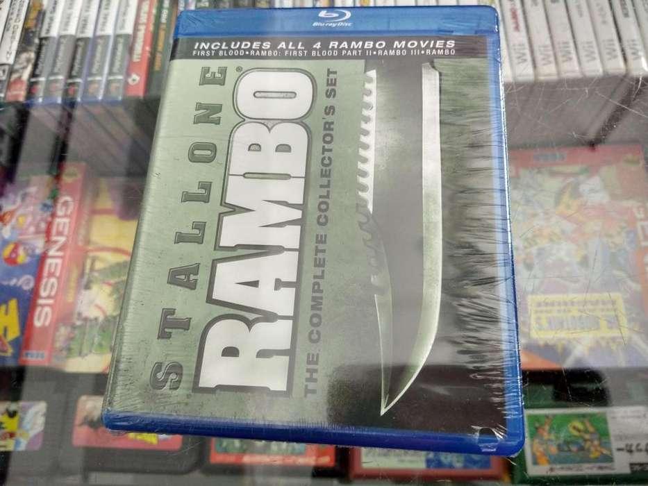 Pack de peliculas de RAMBO en bluray