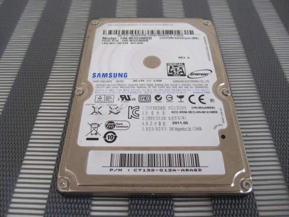 Samsung HNM320MBB 2.5 320GB SATA 3.0Gb/s 5400 RPM IMPORTED