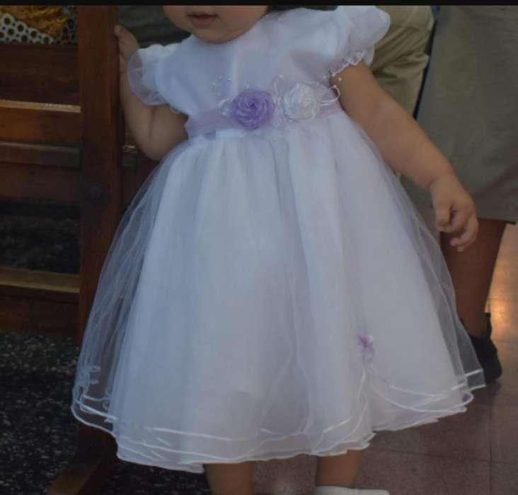 Vestido de Bautismo para Nena de Un Año