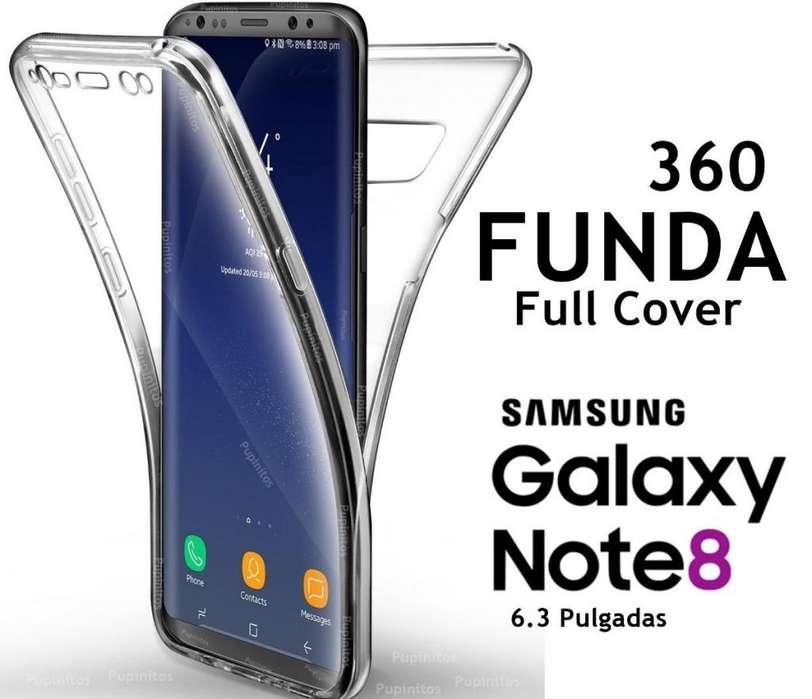 Funda 360 Full Cover Delantero Trasero Samsung Note 8