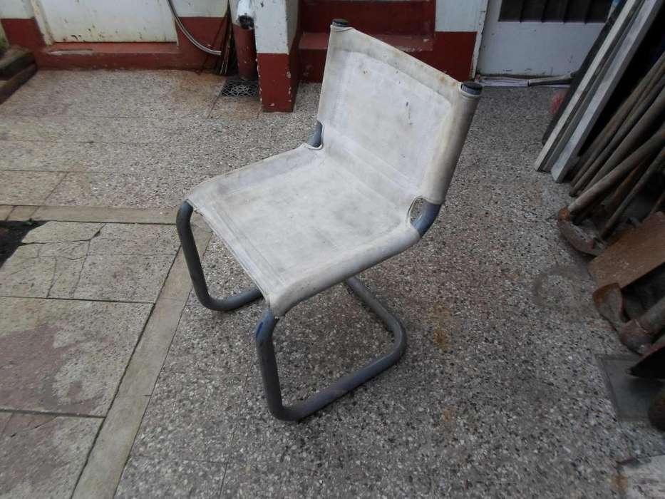 <strong>silla</strong> DE CAÑO Y LONA IDEAL TALLER