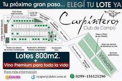 CARPINTEROS CLUB DE CAMPO