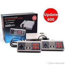 Consola Nintendo Retro Mini 2 Controles 600 Juegos Inlcuidos