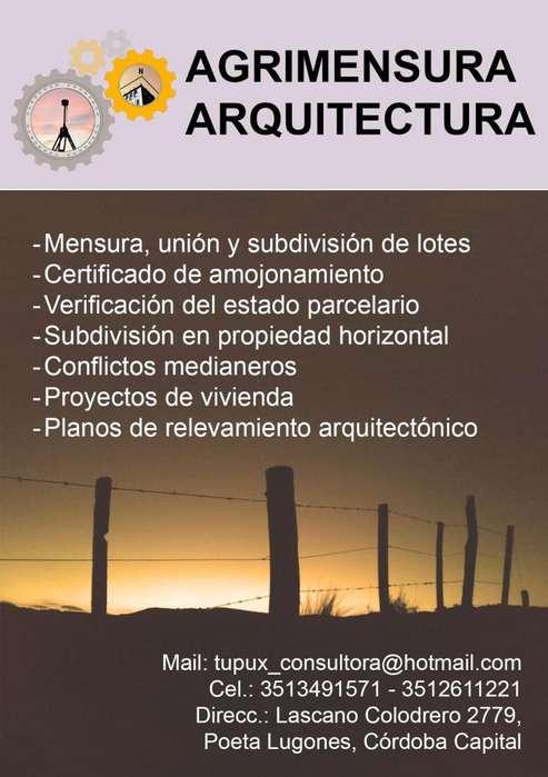 AGRIMENSURA - ARQUITECTURA - TUPUX