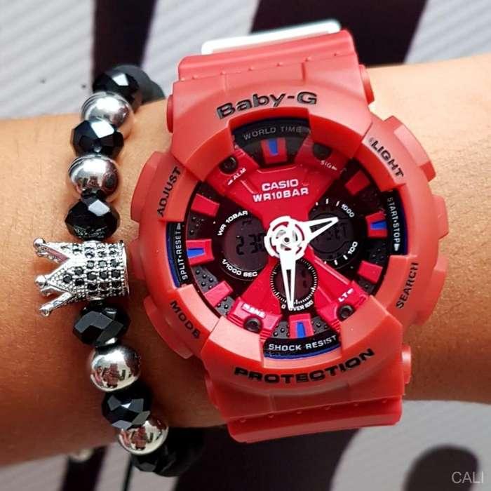 Reloj Casio en color rojo para mujer