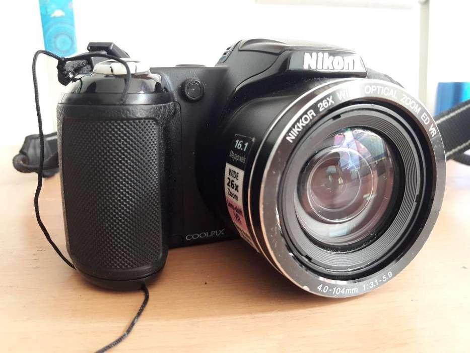 Camara Semiprofesional Nikon L320