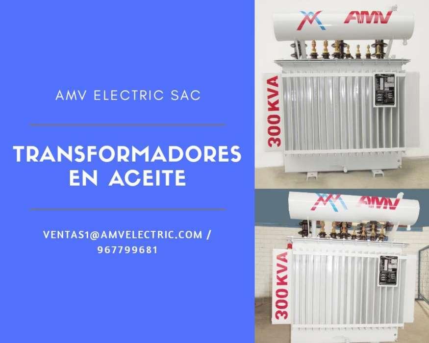 Transformador en Aceite - Amv Electric