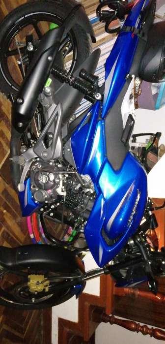 Pulsar 135 Azul Nueva 10/10