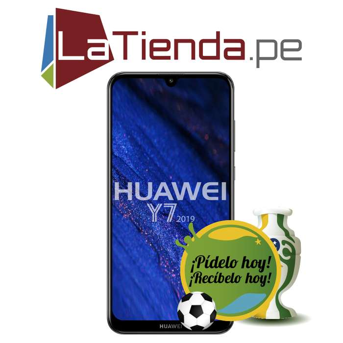 Huawei Y7 2019 Snapdragon 450 de ocho núcleo.