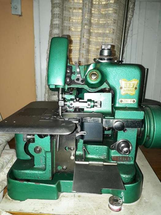 MAQUINA OVERLOCK INDUSTRIAL 3 HILOS BUTTER FLY