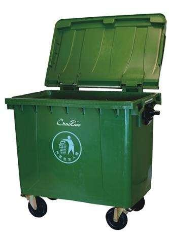 Contenedor de basura 660 ltrs