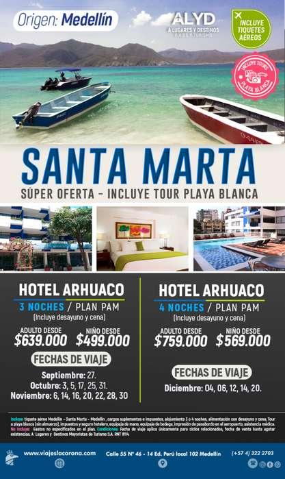 Viaje como un Rey a Santa Marta H. ARHUACO con Viajes la Corona
