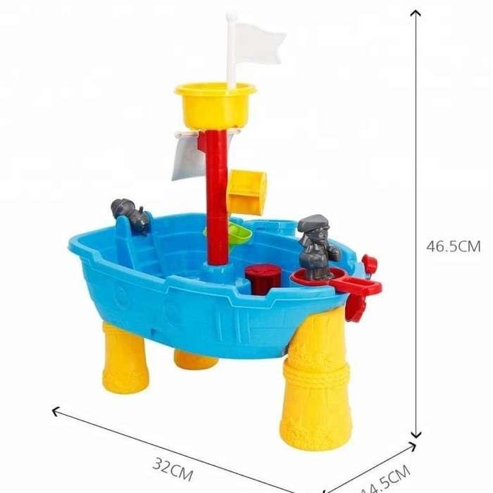 Arenero de Juguete en Barco para Niños