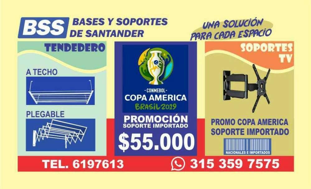 BASES y SOPORTES PARA <strong>televisor</strong> Y TENDEDEROS DE ROPA EN PIEDECUESTA, F/BLANCA, GIRON Y B/MANGA