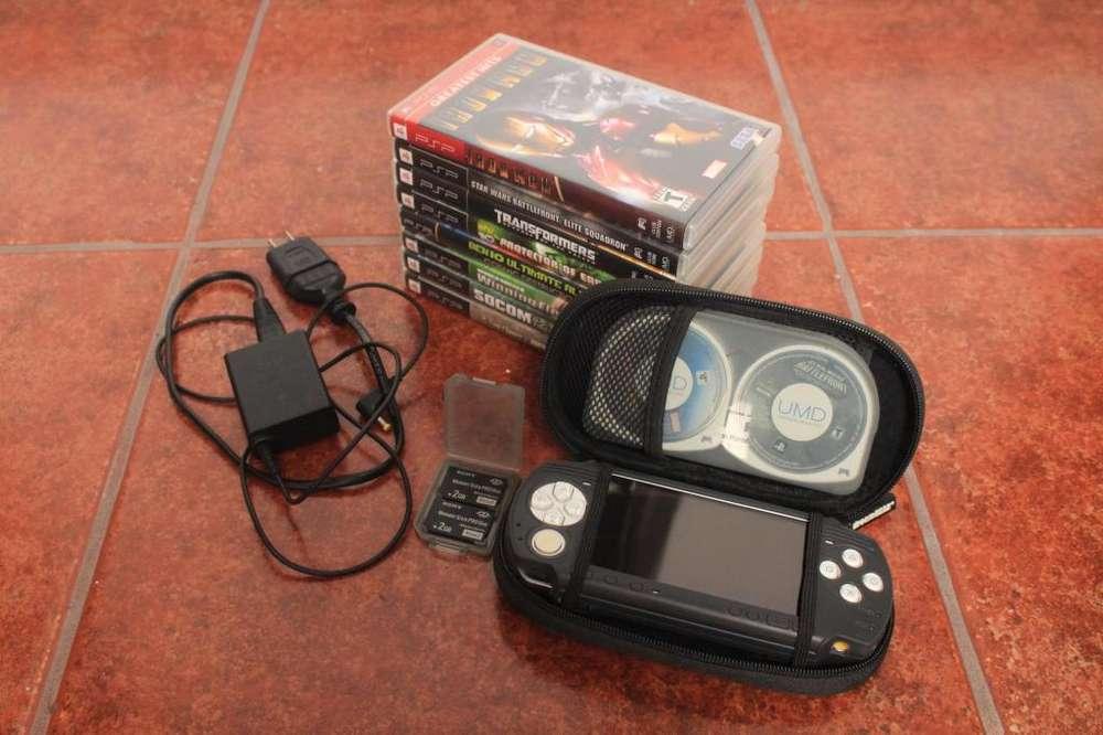 <strong>psp</strong> 8 Juegos 2 Memorias 2GB Hack <strong>psp</strong> y Gameboy
