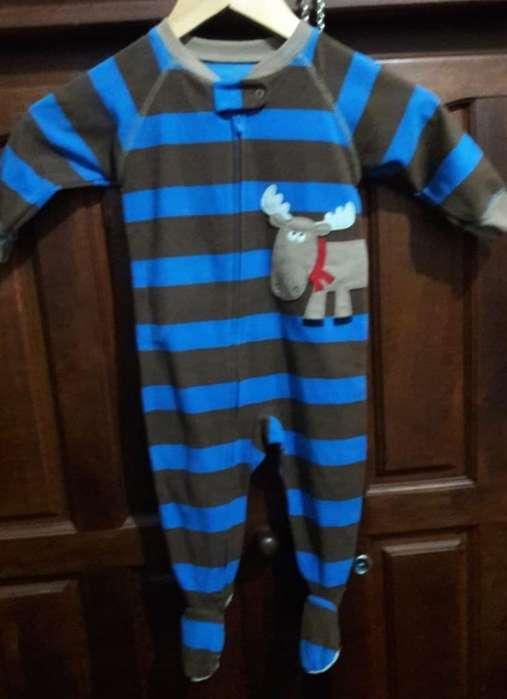 Pijama Micropolar Marca Carters Talle 12