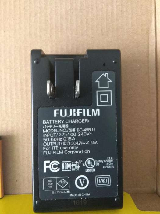 Cargador Fuji Bc 45b 2 Baterias Np 45