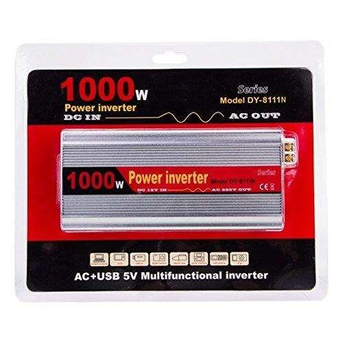 Inversor Conversor Power Inverter 1000w 12v Cc. A 220v. Ca.