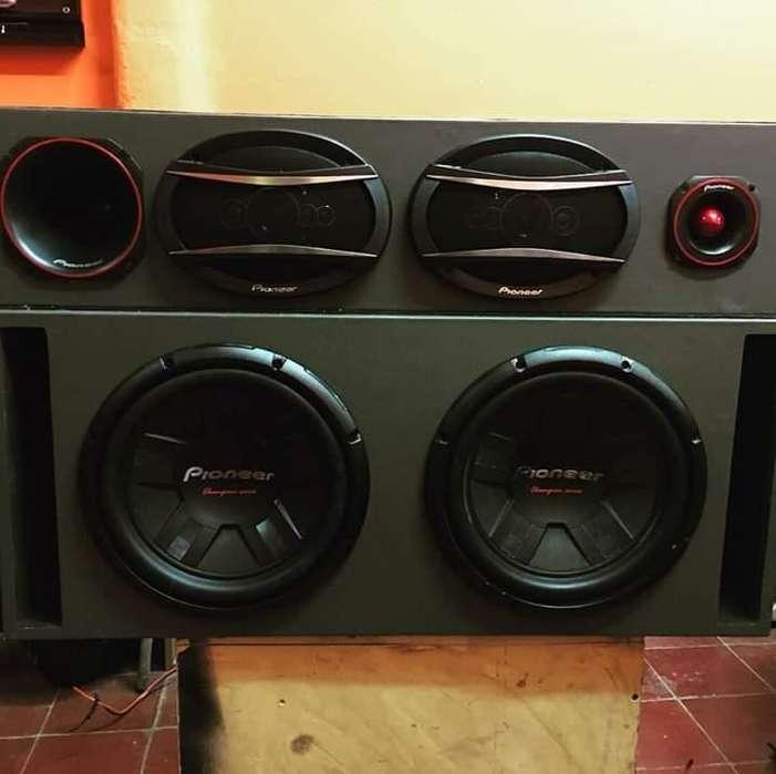 Caja de audio car