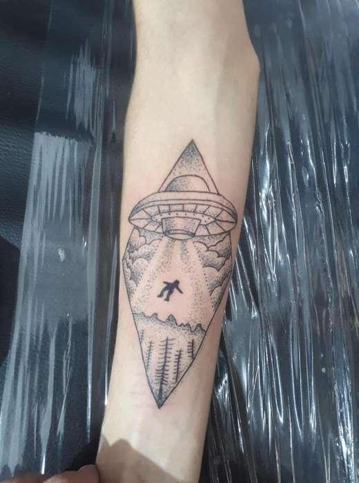 cambio tatuaje por celular o maquina de tatuar rotativa