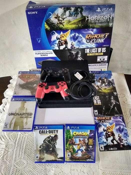 Vendo Playstation 4 500 Gb Impecable