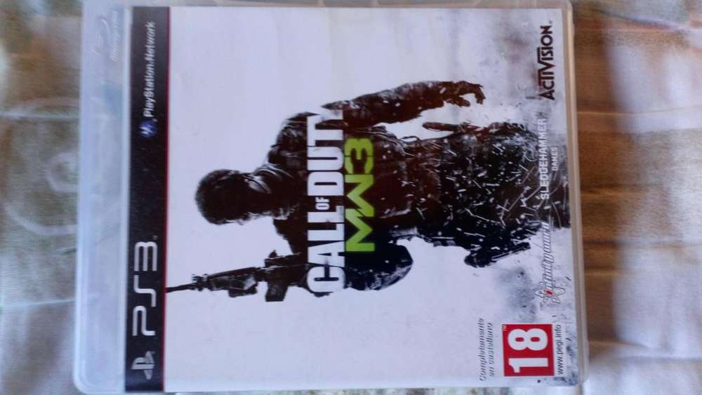Juego de PS3 Call of Duty MW3 345