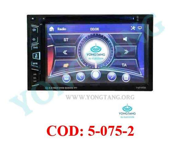 RADIO DVD 2DIN ANDROID 7 PLG STEREO GPS YONGTANG