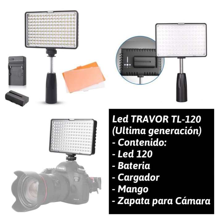 Reflector Travor De 120 Ledbateriacargador (tienda)