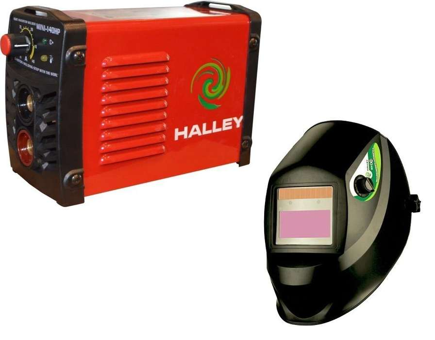 Soldadora Inverter 10 - 140 Amp Mini HalleyMasc. Fotosens