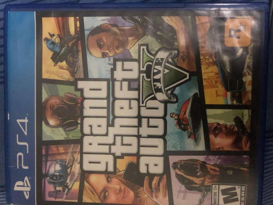 GTA 5 PS4 CASI NUEVO