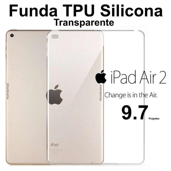 Funda Tpu De Silicona Transparente Para Ipad Air 2 9,7