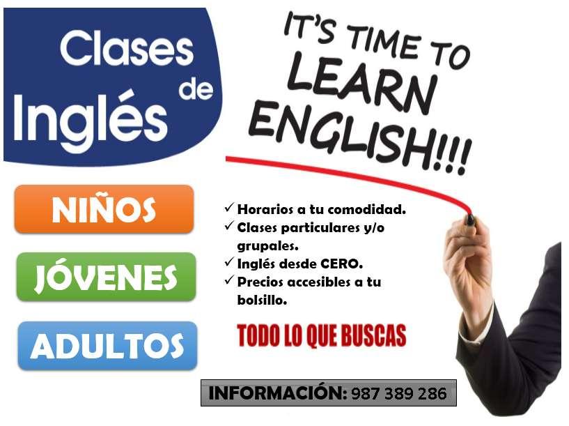 Clases de Ingles para niños, jovenes y adultos
