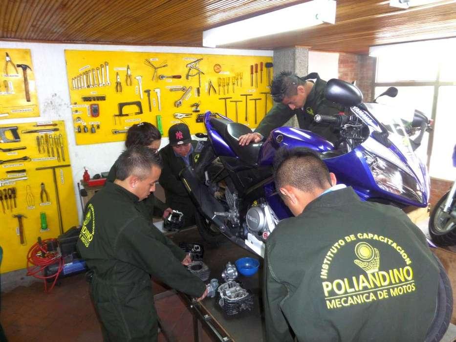 Curso técnico de mecánica de motos