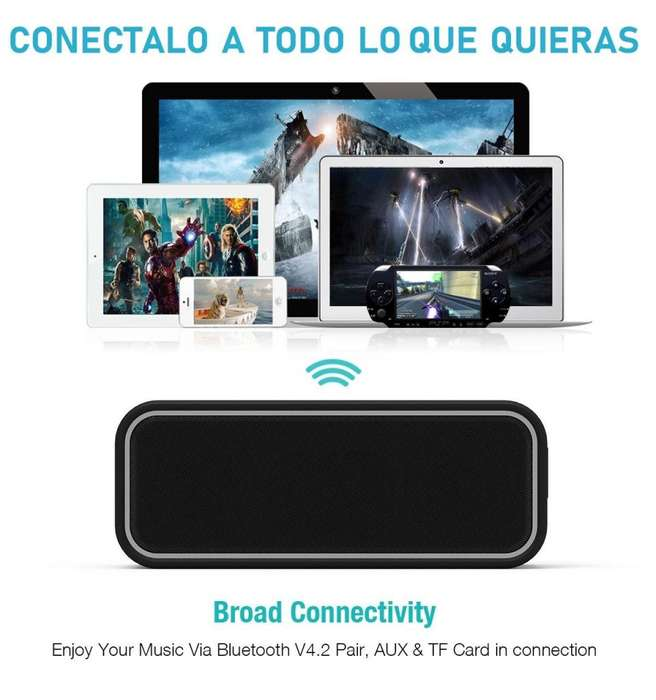 PARLANTE Bluetooth EC TECHNOLOGY -ULTRA ALTA POTENCIA DE 40W – IMPORTADOS DE USA NUEVOS EN CAJA. WhatsApp 948475967
